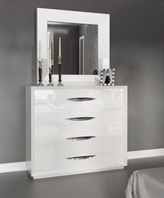 "спальни ""Franco Furniture"" Комод 1017 White"